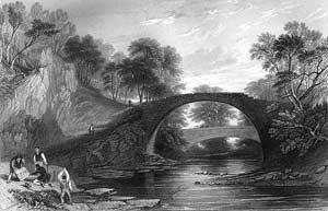 Bridge at Moose water where Lamberts cavalry forded