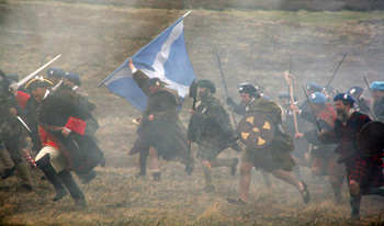 Filiming Culloden for the National Trust - CLICK FOR MORE!