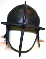 3 bar lobster pot helmet - front